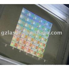 Master-Pin-Presse für Sicherheits-Aufkleber