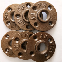 brass cast iron pipe fitting floor flange