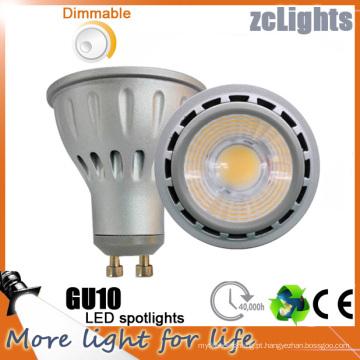 Epistar Chip COB LED GU10 Lâmpada LED