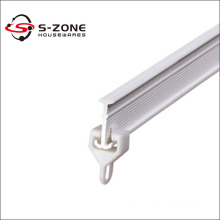 ceiling mount curtain track plastic