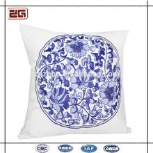 Chino clásico de bordado de microfibra asiento llano de cojín