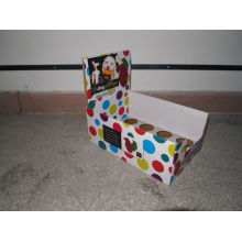 Recyclable Colorful Cardboard Counter Display Box For Retail Display, Store Display