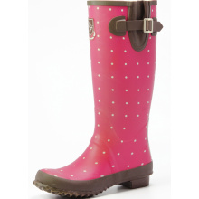 Traditional Rubber Rain Boots For Girls Or Women