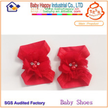 wholesale colored baby barefoot baby shoes ornament