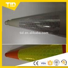 Manga reflectante de PVC para cono de tráfico