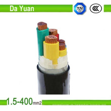 El cable de cobre PVC forrado 0.6 / 1kv XLPE Cable de transmisión