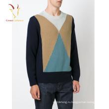 2016 Мода Пуловер Интарсия Свитер Женщин Мода