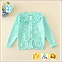 Gestrickte Herbst lose Pullover Strickjacken für Kinder ein Stück neugeborenes Baby Kleidung Pullover Baumwolle Baby süße Kleidung