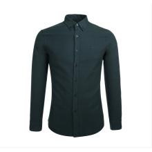 Chemises décontractées pour hommes les plus récentes 100% coton