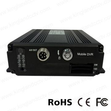 4CH Ahd 720p Mini Dual SD Card Mobile DVR