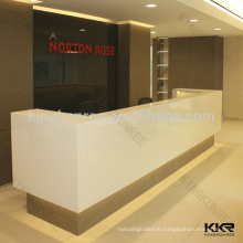 Luxury design artificial stone reception desks and front counters