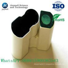 Partie en alliage d'aluminium en poudre moulée sous pression pour instrument de microscope