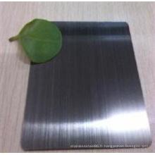 Feuille d'acier inoxydable de la finition 316L de miroir de 0.5mm