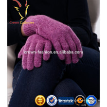 Gants chauds tricotés de cachemire de laine à vendre