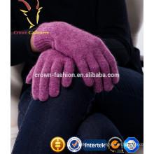 Шерсть кашемир трикотажные теплые перчатки для продажи