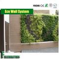 Panel de pared impermeable compuesto WPC madera duradero