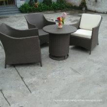 Antique Design Dining Sofa Round Table Rattan Velvet Furniture