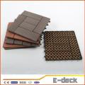 300 * 300 * 22мм Древесно-пластиковые композитные блокировочные наружные настилы из пластика WPC