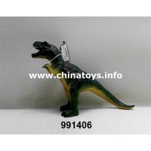 Barato novo brinquedo de dinossauro de plástico macio (991406)