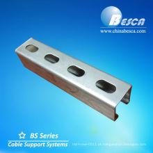 Aço Inoxidável / Alumínio / Galvanizado Strut Canal Fabricantes (UL cUL.SGS.ISO CE)