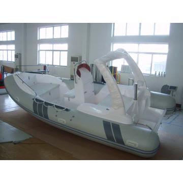 Costela Infatable barco com PVC de alta qualidade