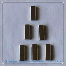 Бар форму неодимовый магнит с высоким качеством Никель покрытием