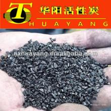 Grade AAA 0,5-2.4mm charbon actif granit norit