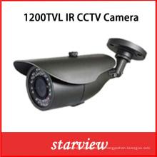 1200tvl IR fijo al aire libre CCTV Bullet cámara de seguridad (W10)