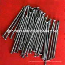 Pregos de betão preto de alta resistência e unhas de aço fabricados na China