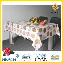 PVC-bedruckte Tischdecke mit Unterstützung in der Rollenfabrik