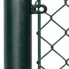 Support de rail supérieur pour clôture de maille de chaîne revêtue, 6 pieds