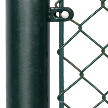 Peso de la valla de enlace de cadena de calibre 6 por metro