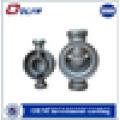 Aço inoxidável válvula corpo precisão investimento fundição com OEM serviço