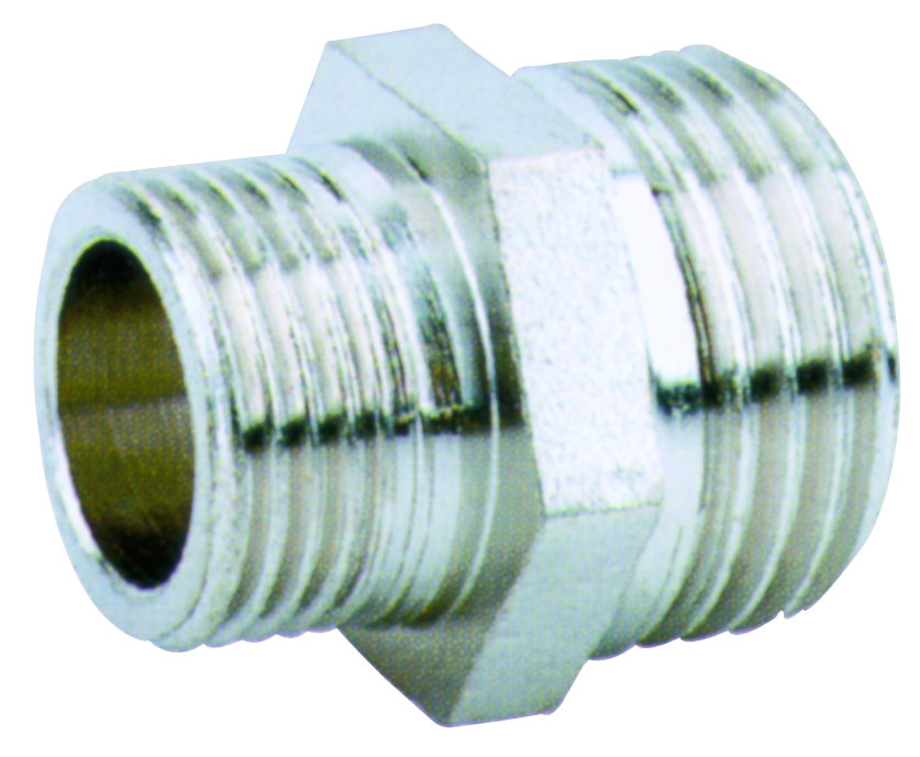 brass straight coupling