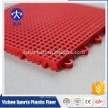 Fábrica direta PP intertravamento azulejos de quadra de basquete ao ar livre durável bloqueio telhas