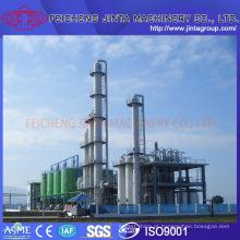 Equipamentos de destilação de etanol Equipamentos de destilação de destilador Equipamentos de destilação de etanol Projeto de linha de produção de plantas