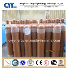 Cylindre de gaz en acier inoxydable à base d'oxygène à l'azote liquide à haute teneur en oxygène CO2