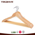 Hotel using shirt and pants wooden clothes hanger