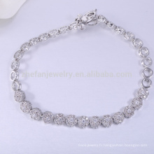 Bracelet unique de bijoux en argent 925 soleil