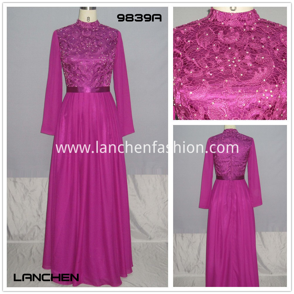 Dresses Chinese Style purple