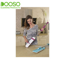Hands-Free Self Washing And Drying Flat Mop