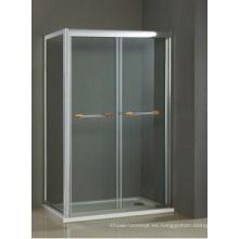 Cubículo de ducha de vidrio