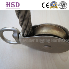 Pulley Swivel Typw with Wire Rope