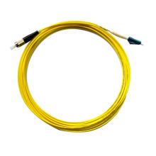 Cordon de raccordement à fibre optique 3m lc-fc vendu à chaud, cordon de raccordement fibre extérieur en fibre optique 3m DX MM