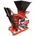 Motor diesel de FL1-25 / tipo electiric que bloquea hidráulico del ladrillo del suelo que hace el precio de China de la máquina