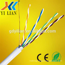 high quality cat5e 305m per roll 24awg fiber optic cable types