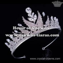 Wholesale Crystal Angel Wings Princess Party Tiaras