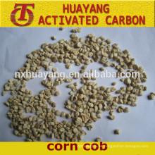 mazorca de maíz para pulir gránulo de mazorca de maíz 24mesh