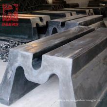 High performance dock rubber m fender / bumper for port
