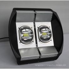 Lumière d'inondation de 120W LED avec le conducteur de Meanwell et la puce de Bridgelux LED